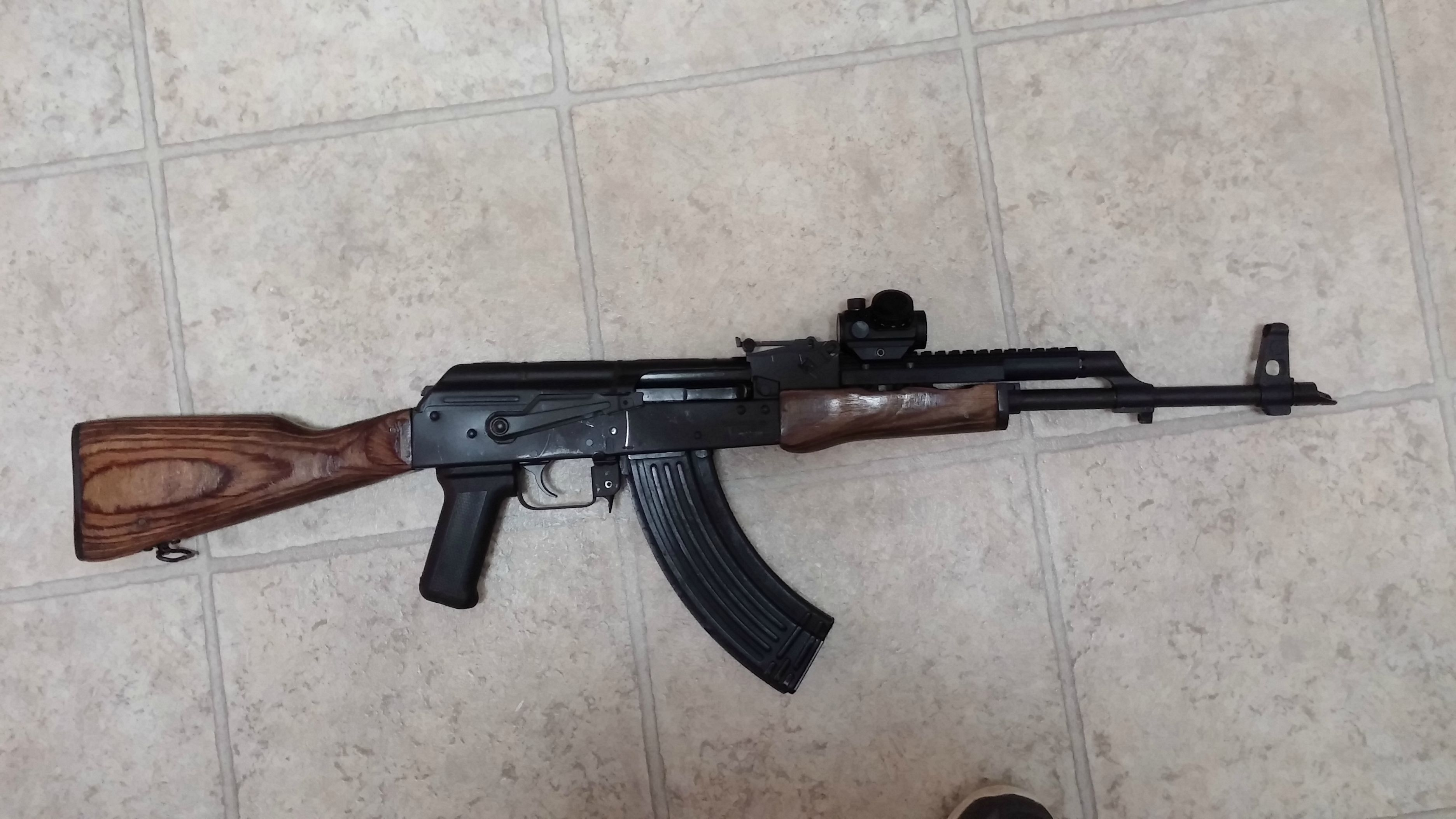 WASR 10/63 with Ultimak, ammo, mags, more: $600 For Sale or Trade