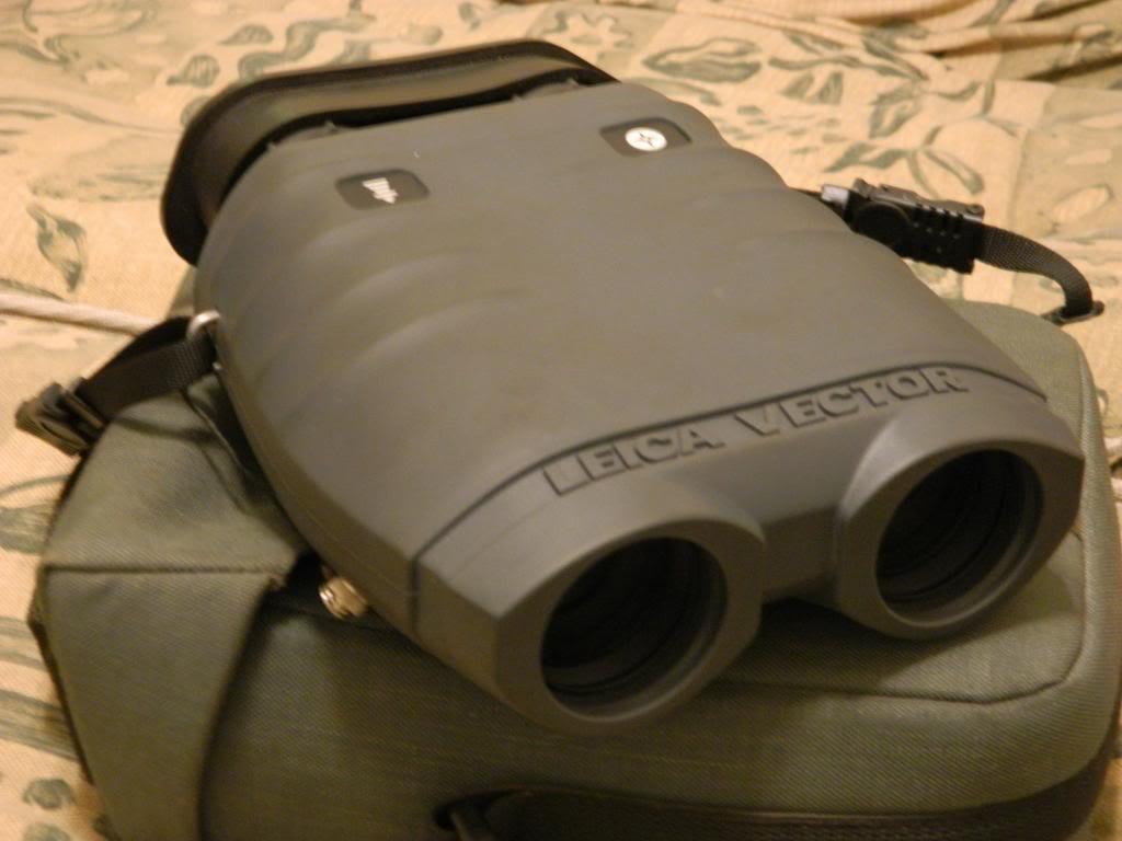 fs  ft leica vector iv rangefinder  binoculars