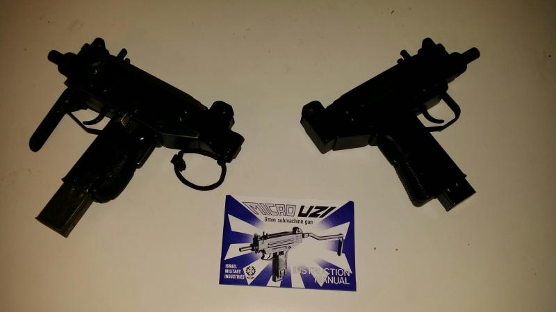 Item Gone! FS Transferable Micro Uzi SMG package (2 guns