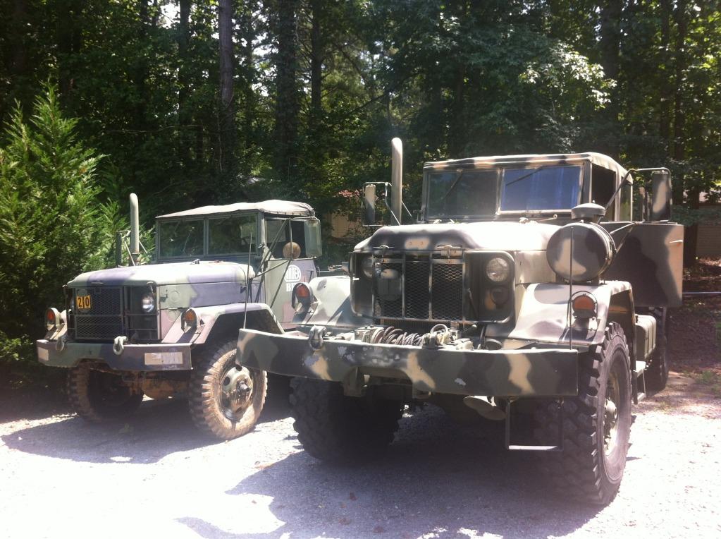 Item Gone! FS/FT M813 Military Bobbed 5-ton Quad Cab on 53