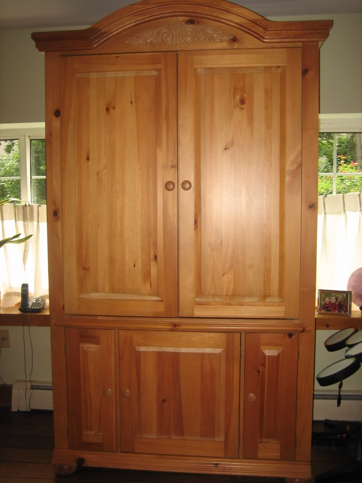 Item Gone Fs Broyhill Fontana Armoire With Free Tv The Outdoors Trader