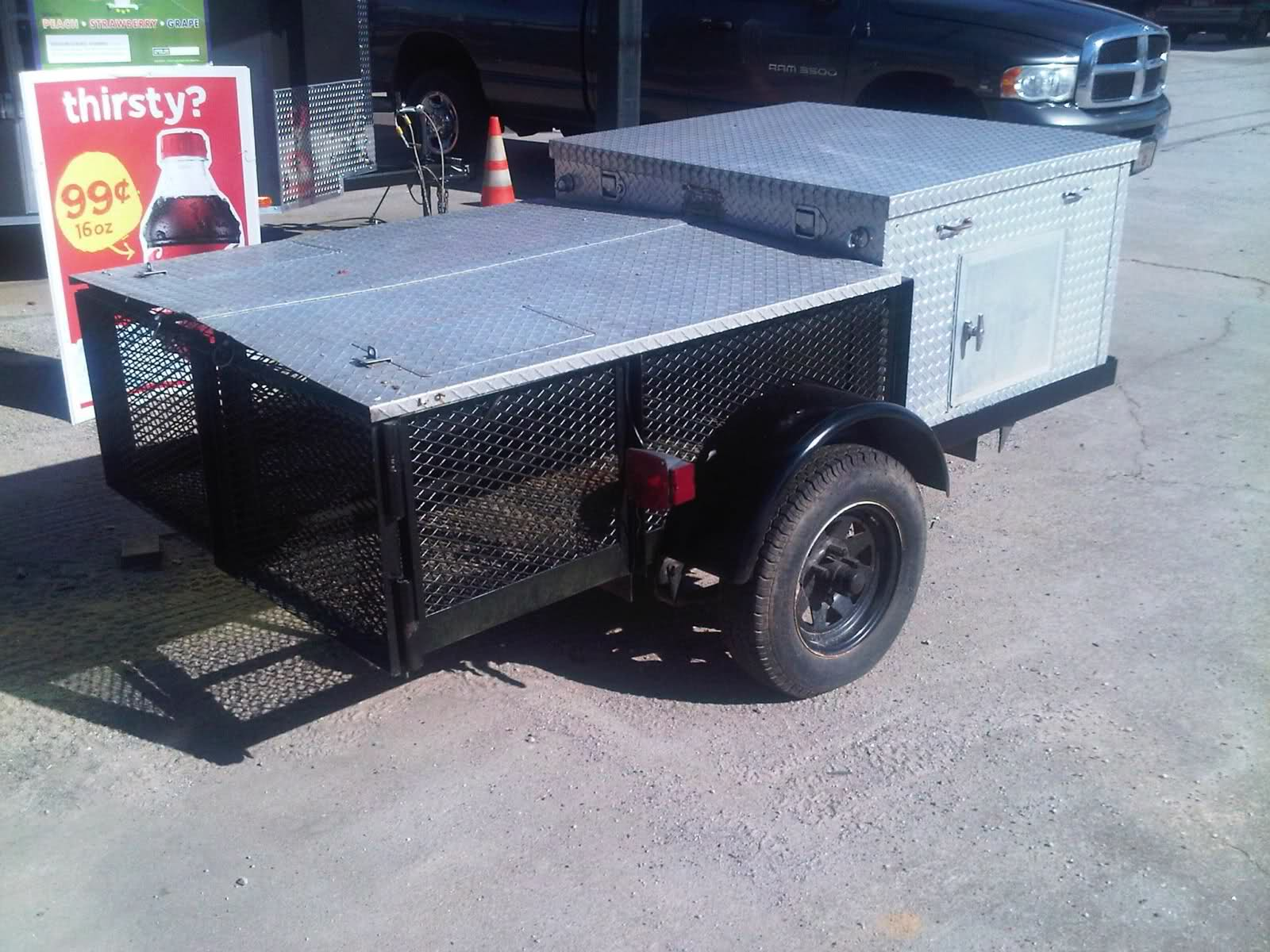 4 X 8 Dog Trailer The Outdoors Trader