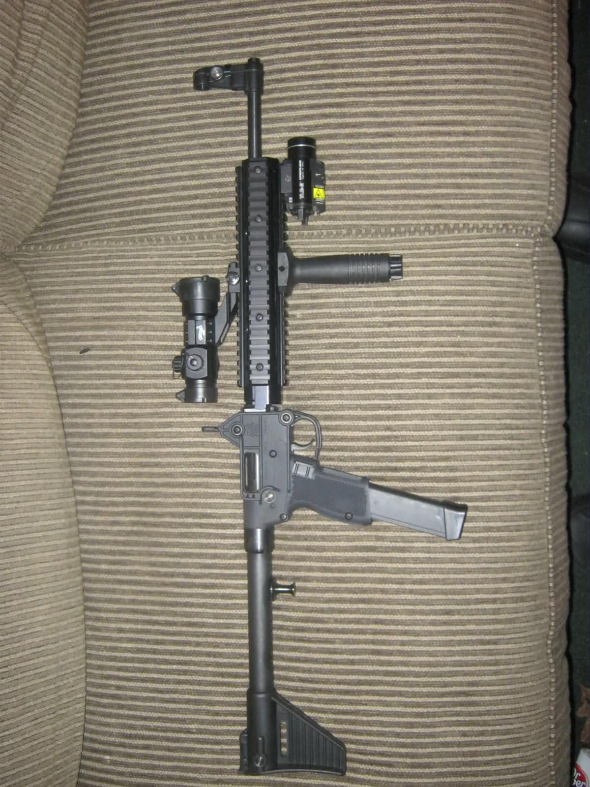 Tactical Kel Tec Sub 2000 9mm Glock Mags Fs Ft The