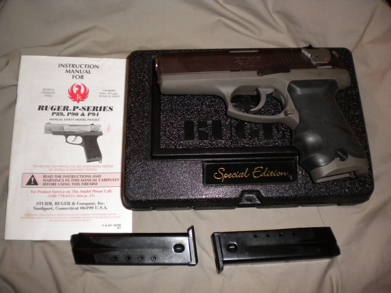 FS Ruger P94 Special Edition | The Outdoors Trader