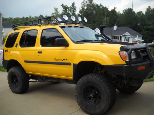 2000 Nissan Xterra Lifted The Outdoors Trader