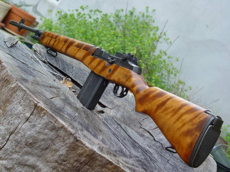 M14 stock refinishing | The Outdoors Trader