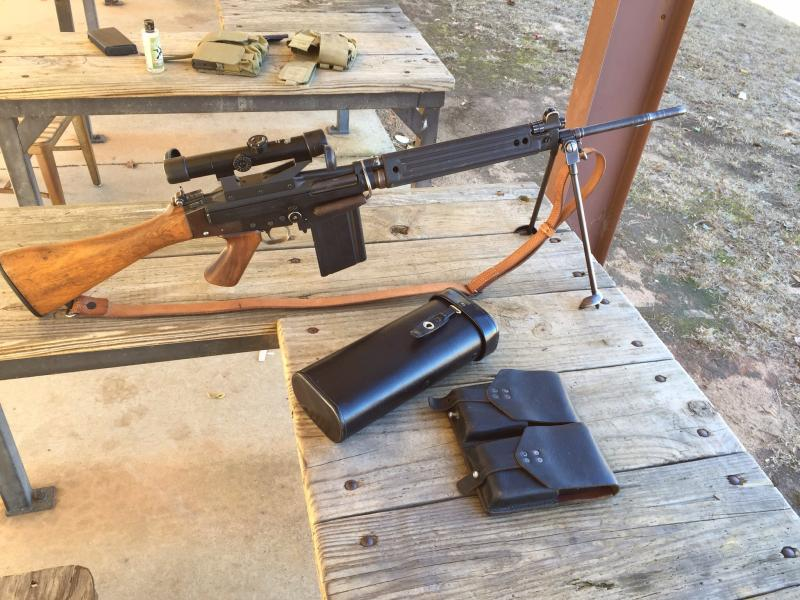 FN FAL G1 built on Coonan G1 matching serial receiver with magazines