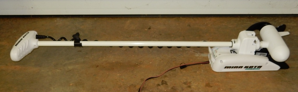 Minn kota riptide st bow mount electric trolling motor for Minn kota electric motor for sale