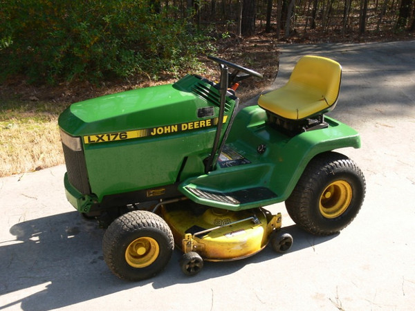Lawn Tractor Hoods : John deere lx lawn tractor pics added the outdoors trader