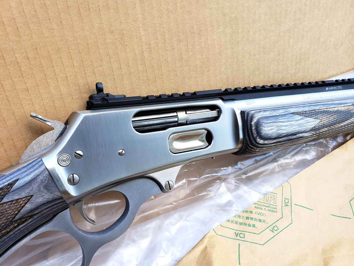 ♒♒♒ Beautiful Stainless Marlin 1895 SBL  45-70 ♒♒♒ For