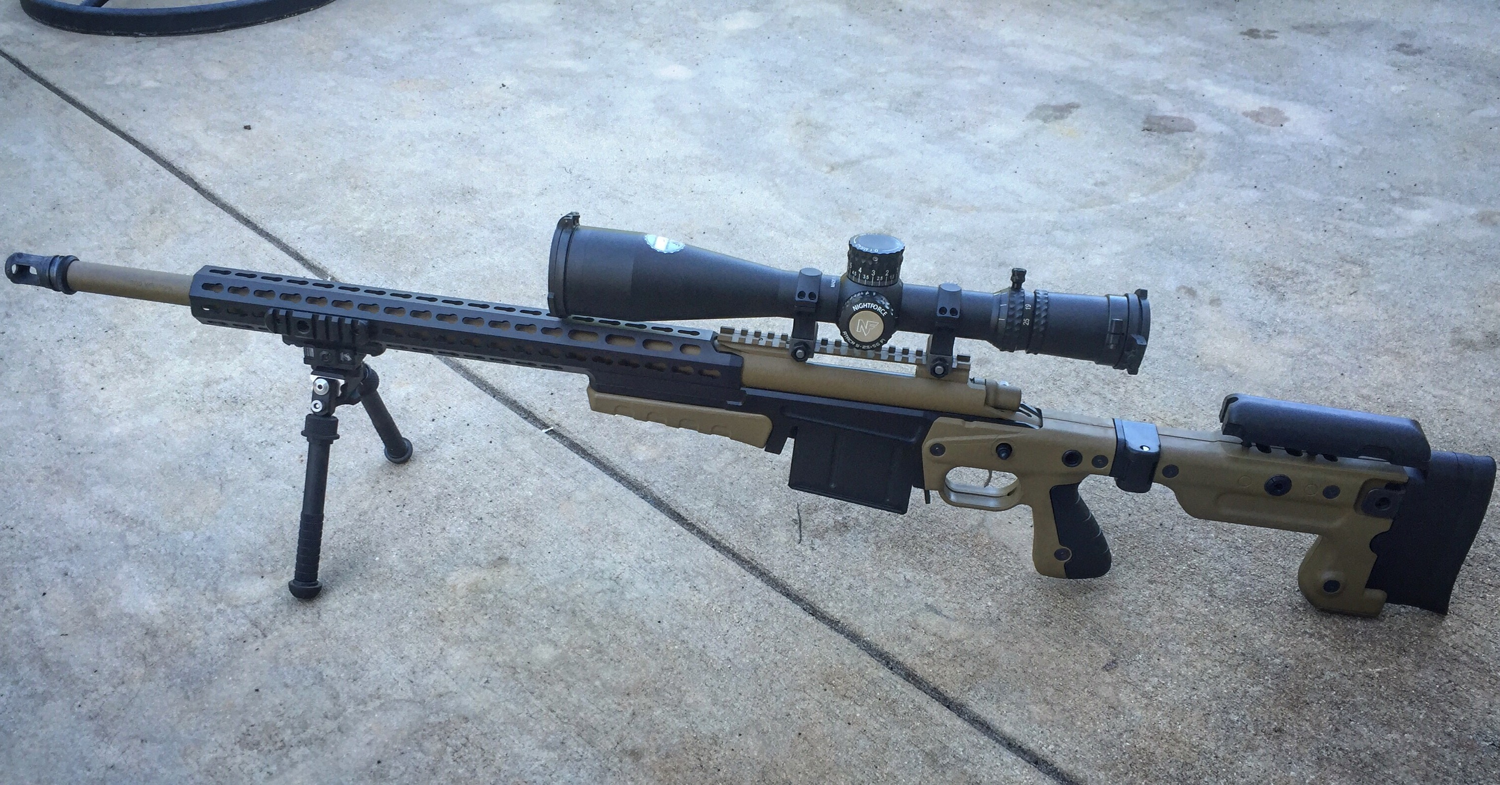 Accurate Ordnance  300 Win Mag - AX Chassis & Nightforce 25x