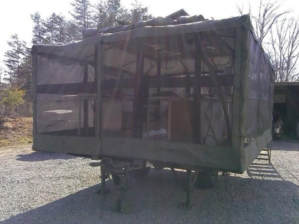 Fs Ft Military Mobile Army Field Kitchen Trailer The