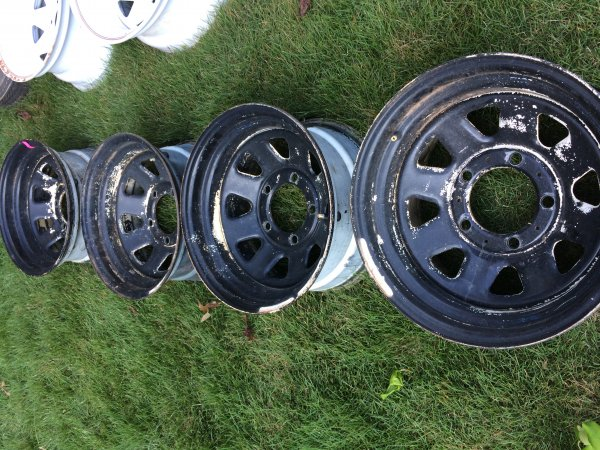 Ford Athens Ga >> FS Jeep or Ford 5x5.5 steel wheels   The Outdoors Trader