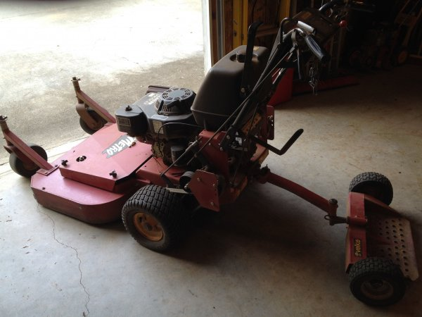 Fs Exmark 36 Inch Walk Behind Commercial Mower The