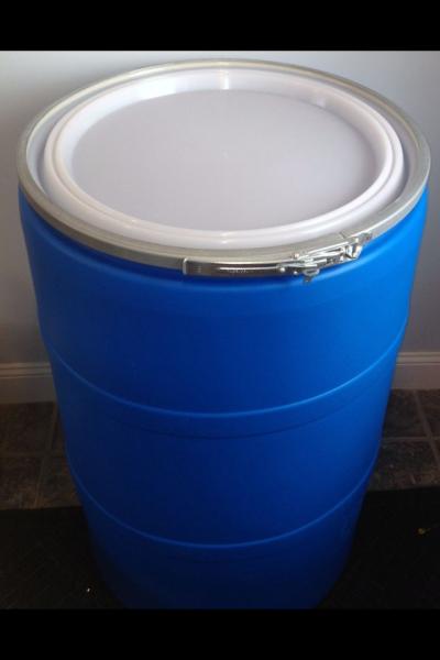 Fs 55 Gallon Open Top Plastic Rain Barrel Lid The