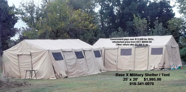 [ IMG] & FS HDT Base-X 305 Military Shelter Tent 18u0027 x 25u0027 | The Outdoors ...