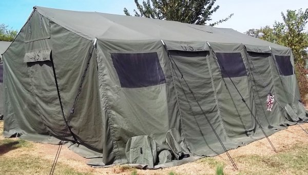 The Outdoors Trader >> FS HDT Base-X 305 Military Shelter Tent, 18' x 25' | The Outdoors Trader