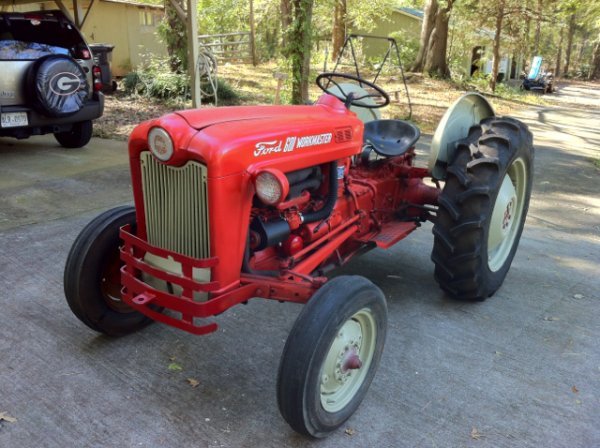 Ford Tractor Pto No 1962 : Fs ford workmaster tractor the outdoors trader