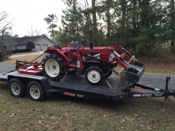 Item Gone Fs Ft Nice Yanmar 4x4 Diesel Tractor Loader